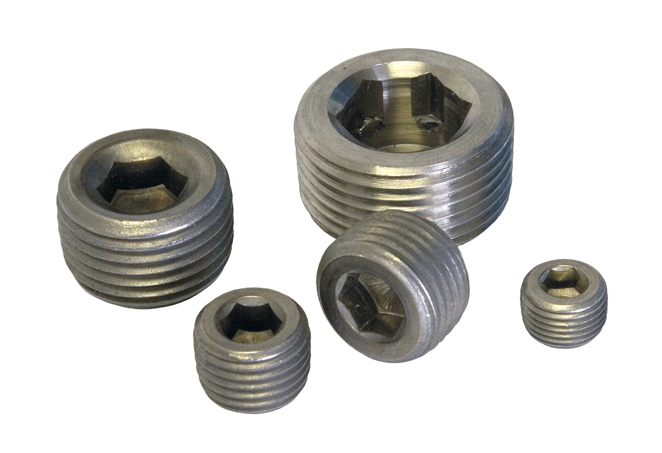 Allen pipe plugs stainless