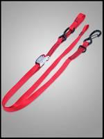 """1""""x6' Cam-Lock Tie Down w/S Hooks and Soft Tie"""