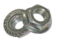 Serrated Flange Nuts Stainless
