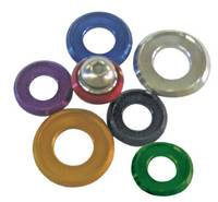 Purple Anodized Beauty Washers. Dress up any bolt with our Aluminum Anodized washers.
